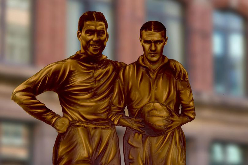 Bill Shankly and Dixie Dean